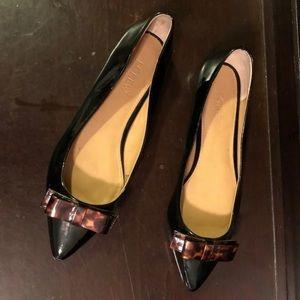 J Crew Ballet Flats Patent Leather Sz 8